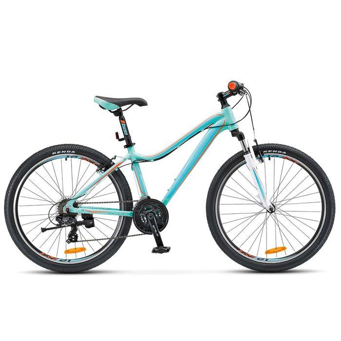 "Велосипед 26"" Stels Miss-6000 V, 2017, цвет бирюзовый, размер 15"""
