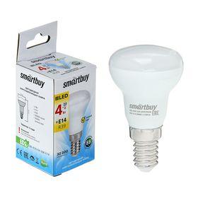 Лампа cветодиодная Smartbuy, R39, E14, 4 Вт, 3000 К, теплый белый