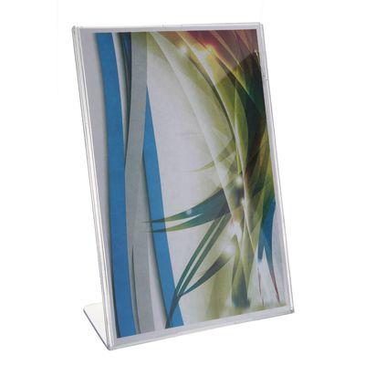 Настольная подставка под информации, формат А4, наклонная, цвет прозрачный