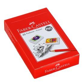 Ластик Faber-Castell синтетика «Друзья» 41х28х8, микс