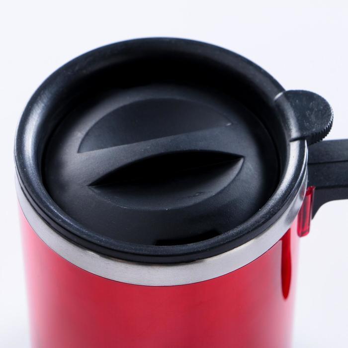 Кружка-термос 450 мл красная