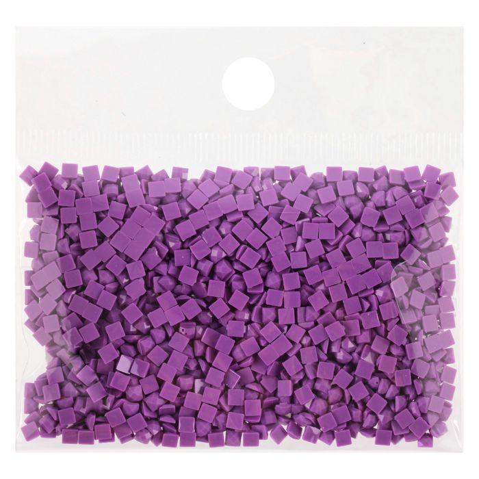 Стразы для алмазной вышивки, 10 гр, не клеевые, квадратные 2,5*2,5мм 208 Lavender VY DK