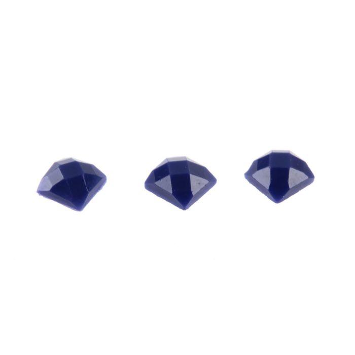 Стразы для алмазной вышивки,10 гр, не клеевые, квадратные 2,5*2,5мм 791 Cornflower Blue VY D