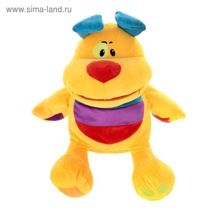 "Мягкая игрушка ""Собачка-развивашка"", 45 см"
