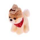 """Мягкая игрушка """"Собака Itty Bitty Boo"""" Cowboy Hat, 12,5 см"""
