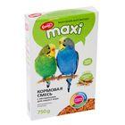Корм «Ешка MAXI» для волнистых попугаев, с витаминами для окраса пера, 750 г