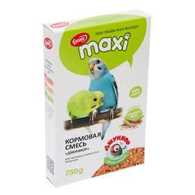 Корм «Ешка Джуниор MAXI» для молодых волнистых попугаев, 750 г