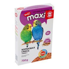 Корм «Ешка MAXI» для волнистых попугаев, микс, 750 г