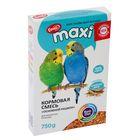 Корм «Ешка MAXI» для волнистых попугаев, основной рацион, 750 г
