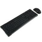 Комплект беспроводной клавиатура+мышь Smartbuy ONE 114348AG, черный
