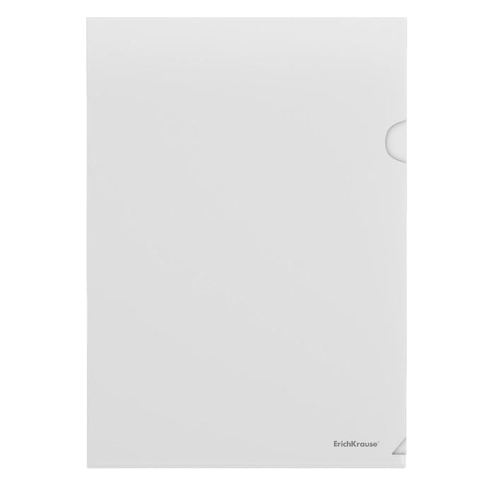 Папка-уголок А4, 120мкм Erich Krause Fizzy L-File, вместимость 80 листов