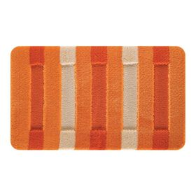 Набор ковриков для ванной 2шт Сolorline, цвет оранжевый 100х60 см