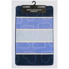 Коврик для ванной, MULTI, цвет синий 80х50 см