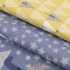Набор ткани пэчворк «Лесное царство», 50 × 50 см