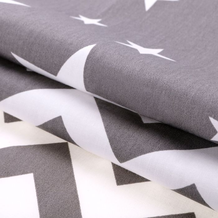 Набор ткани пэчворк «Звёздная ночь», 50 × 50 см