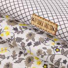 Набор ткани пэчворк «Тёмные аллеи», 50 × 50 см