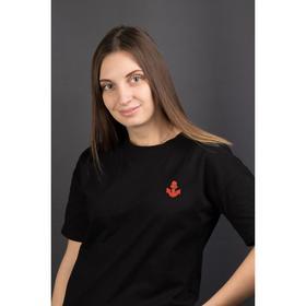 Термоаппликация «Якорь», 4,5 × 3,5 см, цвет красный