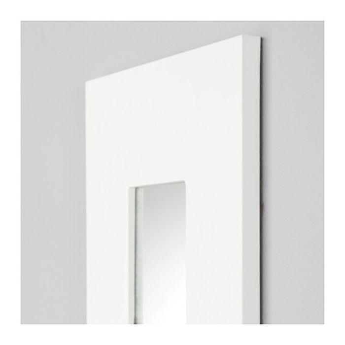Зеркало, цвет белый МАЛЬМА