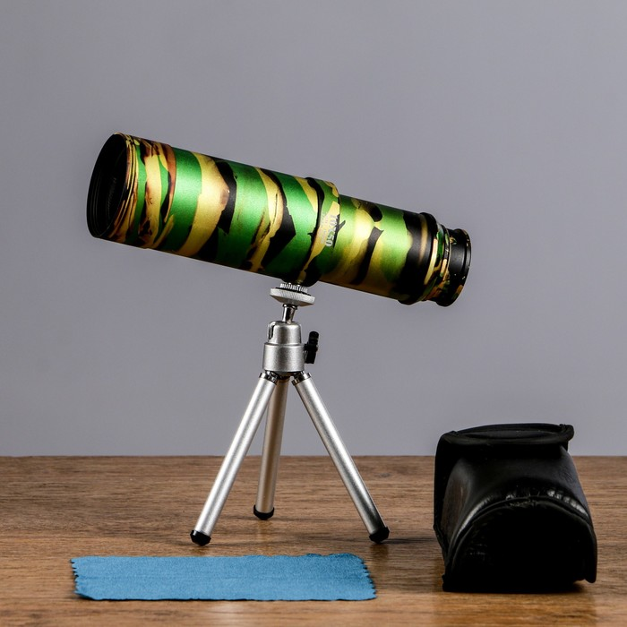 Монокуляр 10х50 раздвижной,светлое хаки 5,5х22см