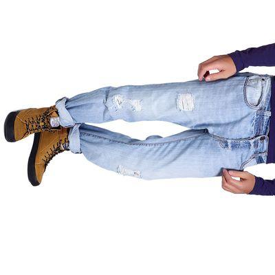 Джинсы мужские GARI 10547-5, размер 44-46, рост 185-190 см,цвет светло-синий