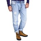 Джинсы мужские GARI 10547-5, размер 46-48, рост 185-190 см,цвет светло-синий