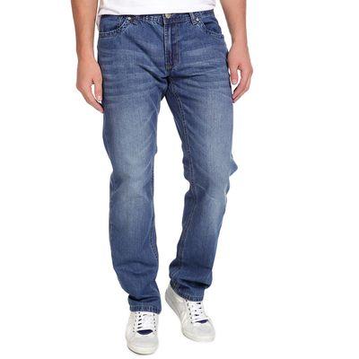 Джинсы мужские ВОВ 10545-2, размер 46-48, рост 185-190 см, цвет синий