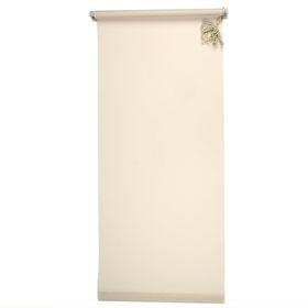 Штора-ролет «Комфортиссимо», размер 80х160 см, цвет серый