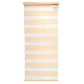 Штора-ролет «День и Ночь», 140 х 160 см, цвет персик