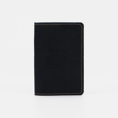 Обложка для паспорта, доллар, цвет чёрный