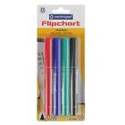 Набор маркеров для флипчарта 4 цвета 2.5 мм Centropen 8550/4, водные