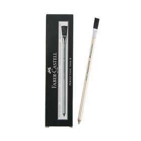 Ластик-карандаш Faber-Castell Perfection 7058 B для ретуши и точного стирания туши и чернил, с кистью