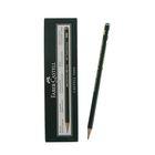 Карандаш художественный чёрнографитный Faber-Castel CASTELL® 9000 профессиональные 5H зелёный