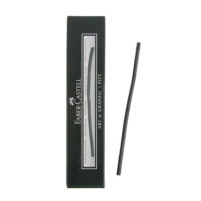 Уголь натуральный Faber-Castell PITT® Monochrome Charcoal 3-6 мм 129114