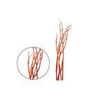 Ветки декоративные, митсумата, оранжевая 90-115 см, набор 5 шт