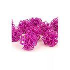 Ротанг шары-петельки, фиолетовые набор 10 шт