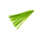 Шпон деревянный, светло-зелёный 1 м, набор, 50 шт
