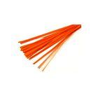 Шпон деревянный, оранжевый 1 м, набор, 50 шт