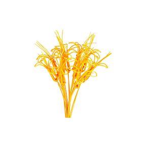 Ротанг, лилии на пике ярко-оранжевый, набор 10 шт