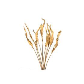 Листья стрелиции золотые, набор 10 шт