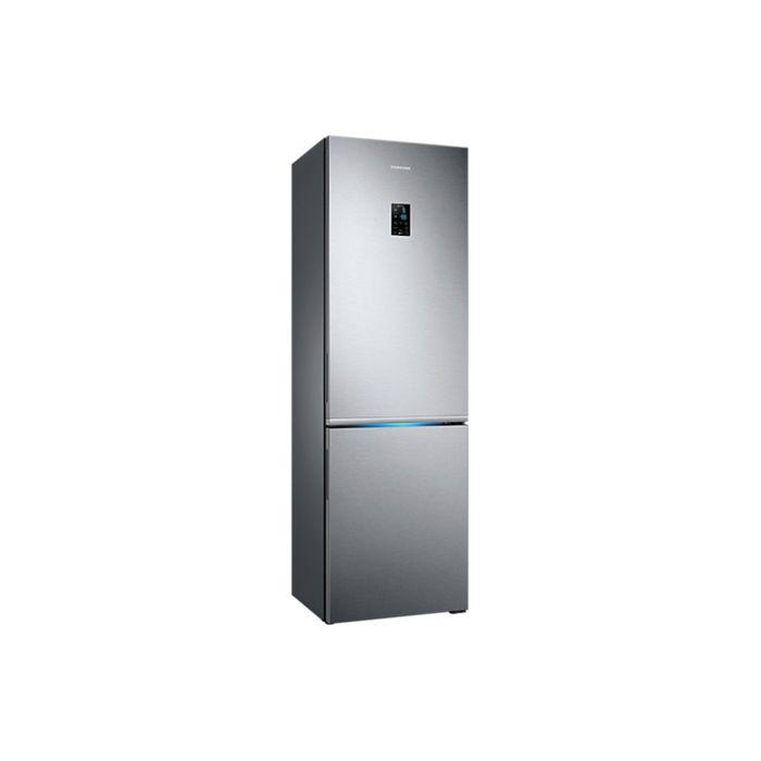 Холодильник Samsung RB-34K6220SS, 344 л, Full No Frost, инверторный, дисплей, серебристый