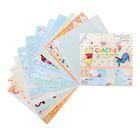 """Набор бумаги для скрапбукинга """"Счастье с пеленок"""": Медвежонок Винни, 12 листов, 30.5 х 30.5см,180 г/м²"""