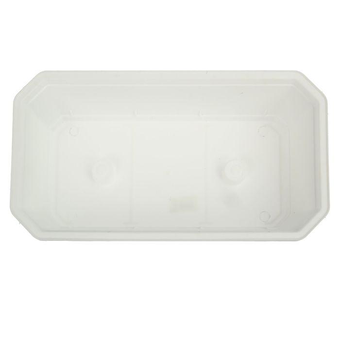 Ящик для рассады, 45 × 24 × 12 см, белый