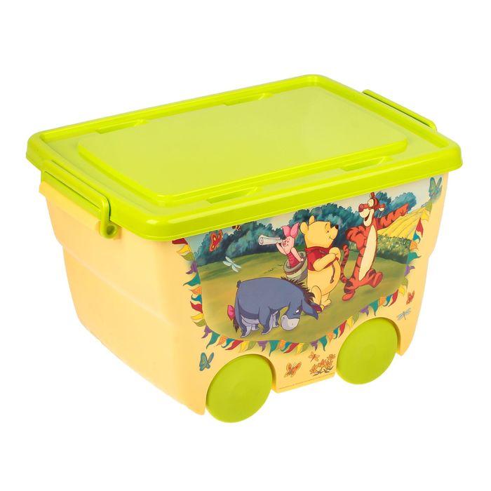 Ящик для игрушек Disney, жёлтый