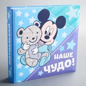 """Фотоальбом на 150 фото в твёрдой обложке """"Наше чудо!"""", Микки Маус"""