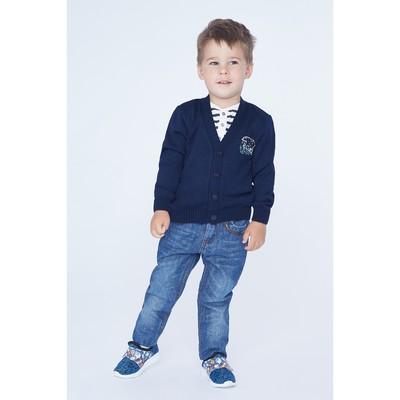 Джинсы для мальчика, рост 104 (60) см, цвет тёмно-синий ZB 10266-D