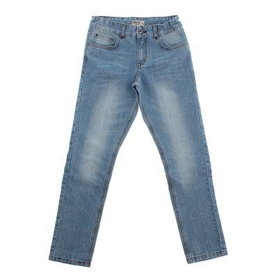 Джинсы для мальчика, рост 140 (72) см, цвет синий ZB 10267-B