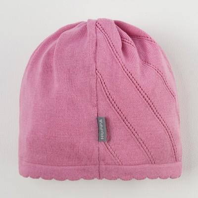 """Шапка вязанная для девочки """"DORIS"""", размер L (6-11 лет), цвет розовый 70013"""