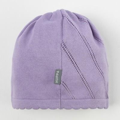 """Шапка вязанная для девочки """"DORIS"""", размер L (6-11 лет), цвет светло-лиловый 70043"""