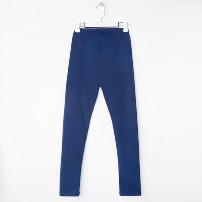 """Легинсы для девочки """"Маки"""", рост 116 см, цвет синий ЖРЛ130800"""
