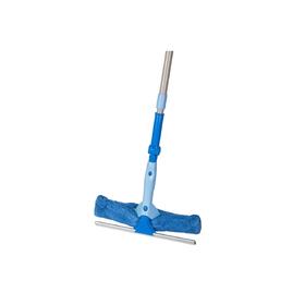 Щётка для мытья окон 2 в 1 HAUSMANN, с телескопической ручкой и поворотным шарниром